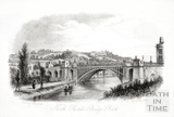 North Parade Bridge, Bath c.1840
