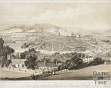 Bath from Prospect Buildings, Beechen Cliff c.1850