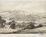Bath from Prospect Buildings, Beechen Cliff c.1850