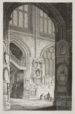 South Transept, Bath Abbey, Bath 1814