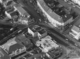1991 Aerial view of the Bear Flat, junctions between Wells Road, Hayesfield Park, Holloway and Bruton Avenue 24 May