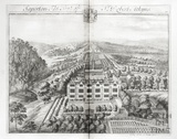 Saperton, the Seat of Sr Robert Atkyns by Johannes Kip 1712