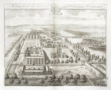 Kempsford, the Seat of the Lord Viscount Weymouth by Johannes Kip 1712