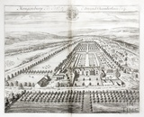 Maugersbury, the Seat of Edmund Chamberlain Esq. by Johannes Kip 1712