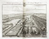 Hatherop, the Seat of Sir John Webb Bart by Johannes Kip 1712