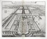 Fairford, the Seat of Samuel Barker Esq. by Johannes Kip 1712