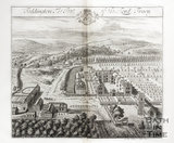 Toddington, the Seat of the Lord Tracy by Johannes Kip 1712