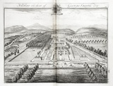 Nibley, the Seat of George Smyth Esq. by Johannes Kip 1712