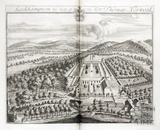 Leckhampton, the Seat of the Revd Thomas Norwood by Johannes Kip 1712