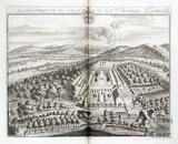 Leckhampton, the Seat of the Revd Thomas Norwood by Johannes Kip 1712