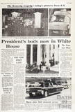 The assassination of JFK 23rd November 1963