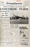 The first test flight of Concorde at Filton 9th April 1969