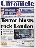 The terrorists attack on London July 7th 2005