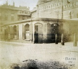 The Kingston Baths, Kingston Parade, Bath c.1849