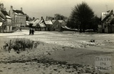 A snowy Biddestone, January 1954
