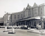 Bath Spa station, shortly after cleaning, 1973
