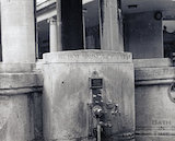 Close up of the Mineral Fountain, Bath Street, pre 1973