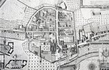 Detail of The City of Bath, Gilmore 1694