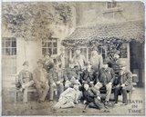 The Bath Licensed Victualler's Association, outside the Larkhall Inn, Larkhall 1890