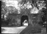 The gatehouse to Cothelstone Manor, Somerset c.1920s