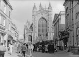 Bath Abbey Church 1987