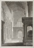 Prior Bird's Chapel, Bath Abbey, Bath 1814