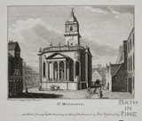 St. Michael's Church, Bath 1786