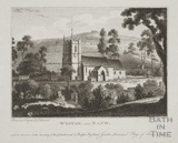 Weston Church near Bath 1782