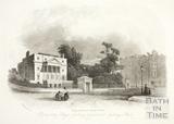 Proprietary College, Sydney Gardens and Sydney Place, Bath c.1855?