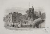Widcombe. Old Church and House, Bath c.1886