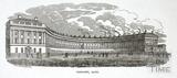 The Royal Crescent, Bath 1829