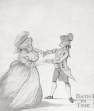 A Long Minuet as Danced at Bath 1787 - detail