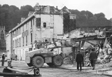 Newark Street, Bath being demolished 1971
