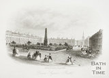 Queen Square, Bath c.1860?