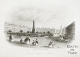 Queen Square, Bath c.1860?