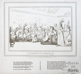 Comforts of Bath, Plate 11 1798, republished 1857