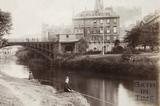North Parade Bridge, Bath c.1890 - detail