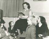 Bath Municipal Library children's story time, c.1960s