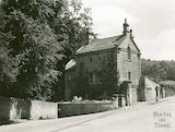 The lower lodge house, Ralph Allen's Drive on the corner of Church Street, Widcombe, c.1950s