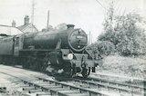 No.44804 leaves Evercreech Junction, c.1960