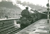Castle class No.4077 Chepstow Castle at Bath Spa Station, c.1960s