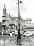 View towards Bluecoat school, Sawclose, 1987