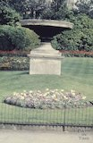 Stone urn in Royal Victoria Park, c.1970s