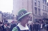 Queen Elizabeth during her visit to Bath for Monarchy 1000, August 9th 1973