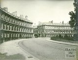 The Circus, Bath, view from the Gay Street entrance looking towards Brock Street, c.1930s