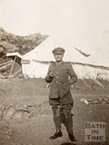 General Ellison on the Island of Imbros (G̦k̤eada), Turkey