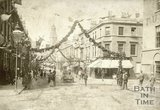 Southgate Street, Bath decorated for Queen Victoria's Diamond Jubilee 1897