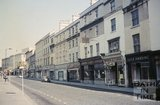 The east side of Southgate Street, Bath looking north, c.1968