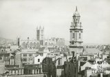 View of St James Church and Bath Abbey, c.1930s