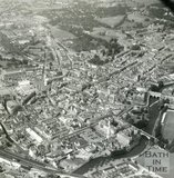 c.1960 Aerial view of Bath